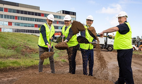 Ceremony marks construction start of new South Australian Emergency Services Headquarters